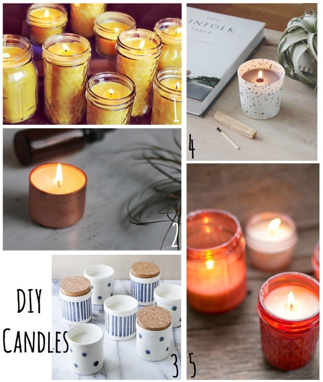 diy candles on monstermonster